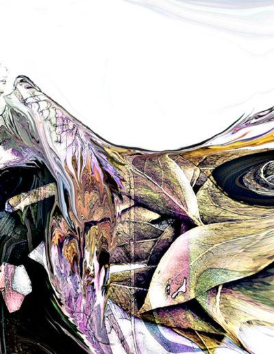 Mya Lurgo, A loro l'alloro ricevuto, installazione (particolare), mixed media, 2010