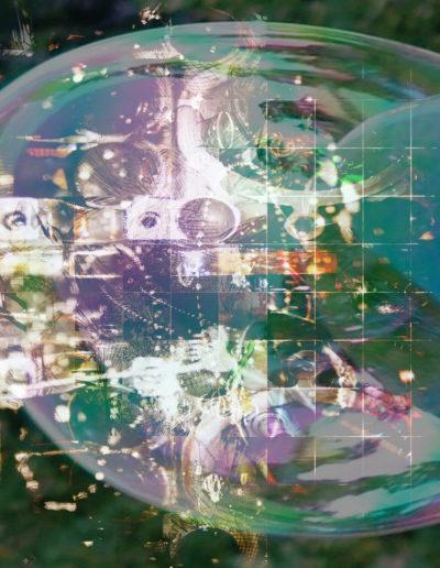 Mya Lurgo, I meccanismi della bolla, digital art, 2008