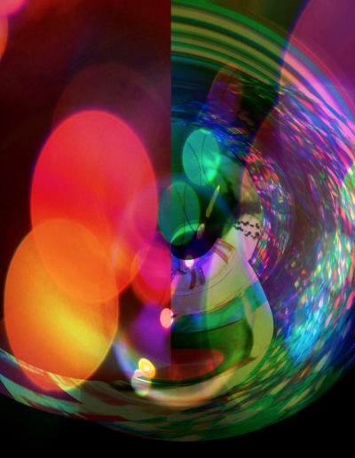 Mya Lurgo, Il cilindro delle bolle, digital art, 2008