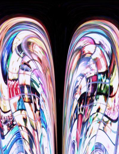 Mya Lurgo, Non in ginocchio, digital art, 2008