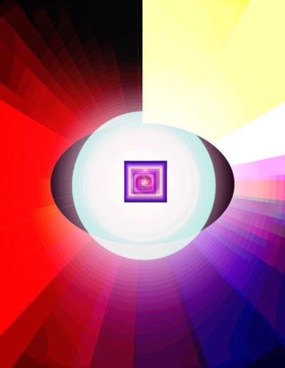 Mya Lurgo, Integrazione e riflessione, digital art, 2012