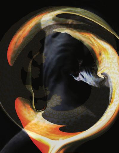 Mya Lurgo, Polluzioni Tantriche, digital art, 2012