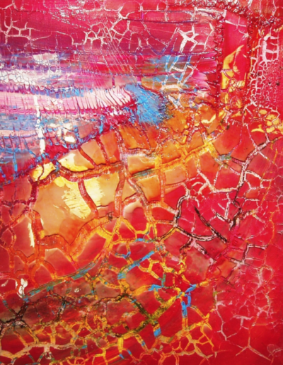 Mya Lurgo, Realtà plasmabili, tecnica mista su tela, 2006