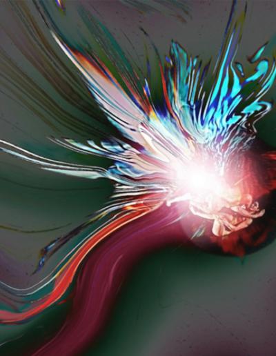 Mya Lurgo, ScorporAzioni in copula mistica, digital art, 2012