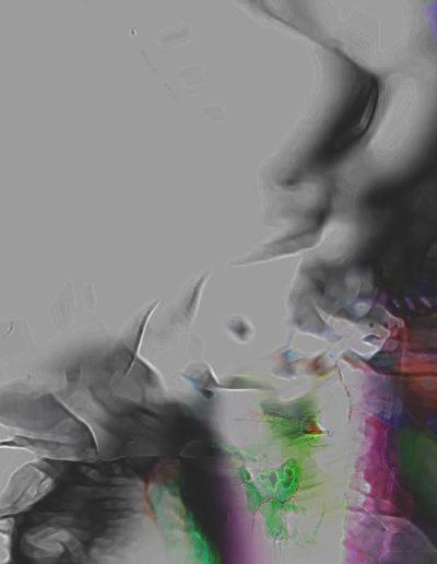 Mya Lurgo, Piena di Grazia, digital art, 2015