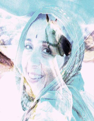 Mya Lurgo, Un Abito di san(T)ità per Cristinta T., digital art, 2010