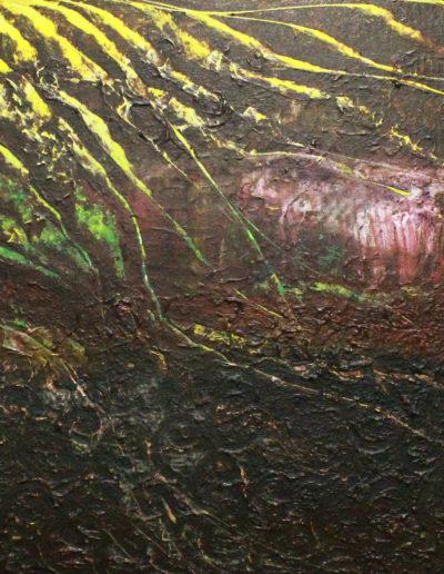 Mya Lurgo, Solari Circostanze, olio su tela